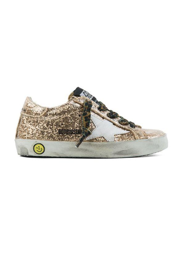 Golden Goose Superstar Sneaker - Gold