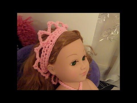 Mermaid Doll Outfit - How to Crochet a Mermaid Costume (Part 1) - Red Heart Yarn Pattern - YouTube