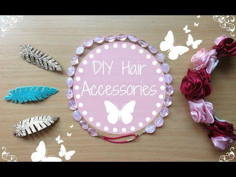 ✿ ❀ DIY Easy Hair Accessories ❀ ✿ Bohemian Style
