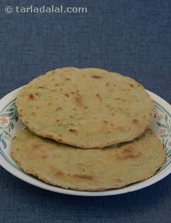 Khakhras are usually made with wheat flour used alone or in combination with other flours. These bajra flour khakras embellished with methi are an interesting gluten free alternative. Follow the exact procedure to get perfectly crisp khakhras.