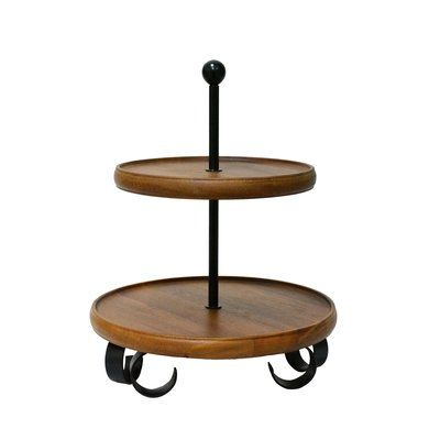 222 Fifth Henley 2 Tier Server Tiered Stand