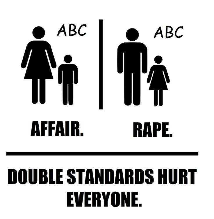 double standard of masculinity in gender A sexual double standard refers to the conceptualization that men and women are judged differently relative to the same behaviors of sexual double standards however, the sexual revolution has instilled more permissive attitudes and made sex before marriage more normative for both men and women.