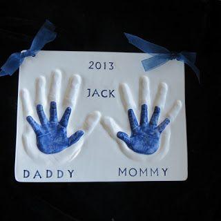 Handprints in Clay: