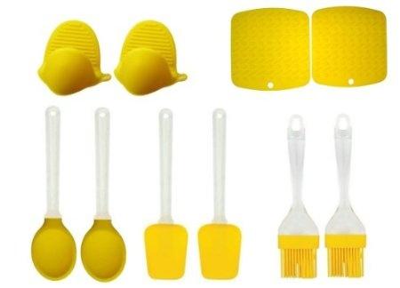 Kitchen Meister Silicone Kitchen Utensil Set