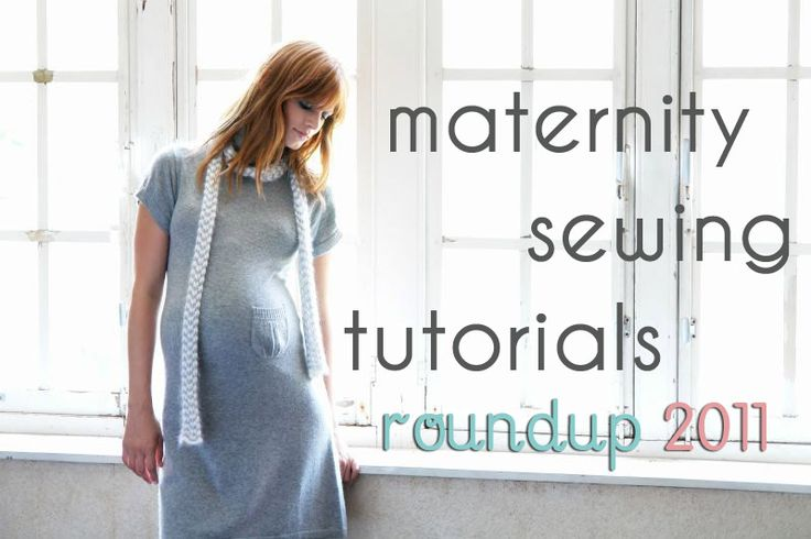 maternity sewing tutorials