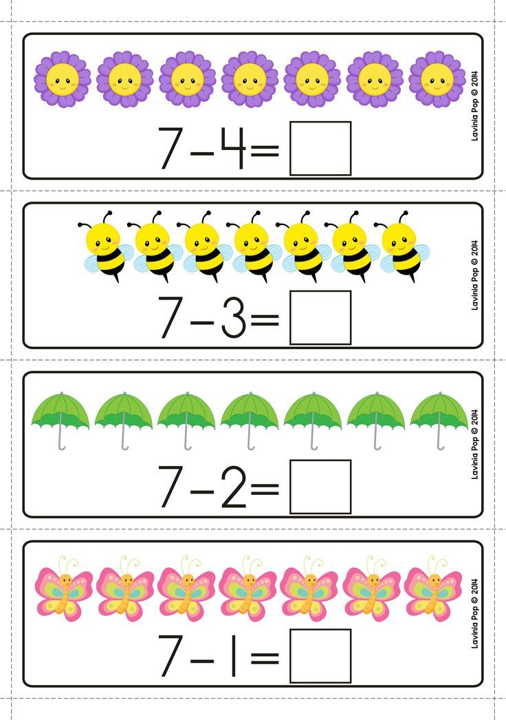 Spring Math Centers For Kindergarten Subtraction With Pictures Spring Math Center Thanksgiving Math Centers Math Centers Kindergarten