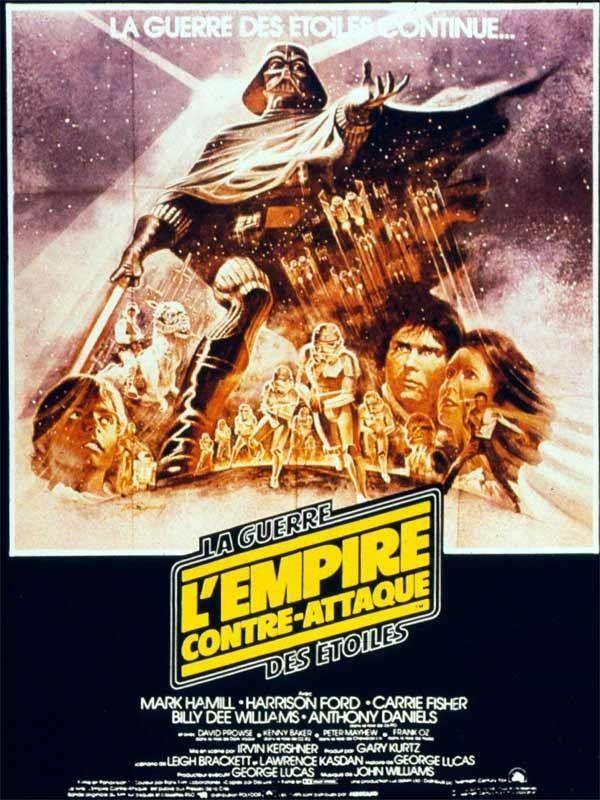Affiche du film Star Wars épisode V : l'Empire contre-attaque