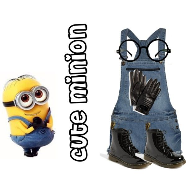 """""""Minion-Despicable me"""" by vickee01 on Polyvore"""
