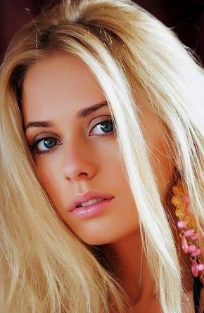 photo belle femme blonde