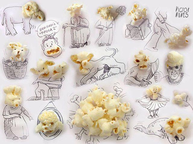schönes wochenende! :) The Imaginative 'Faces' of Victor Nunes