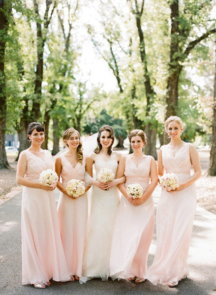 1000  ideas about Blush Pink Bridesmaids on Pinterest  Blush pink ...
