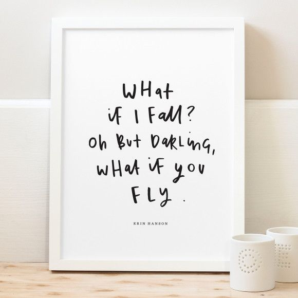 What if I fall quote print | hardtofind.