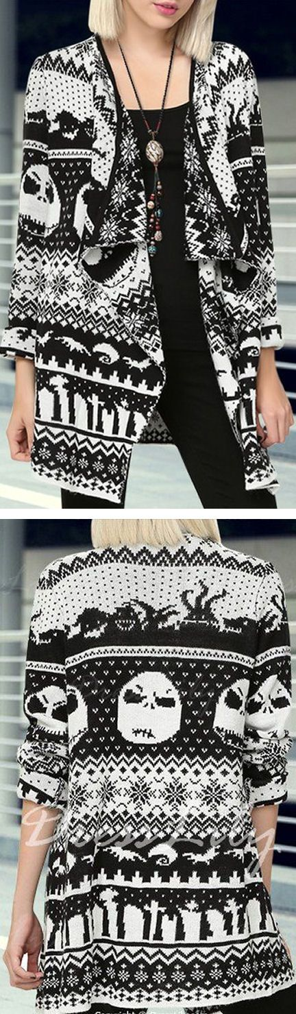 Nightmare Before Christmas Cardigan Sweater ❤︎ i really REALLY want this!