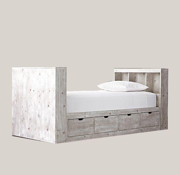 Κρεβάτι με αποθήκευση / Bed with storage by Loizos House