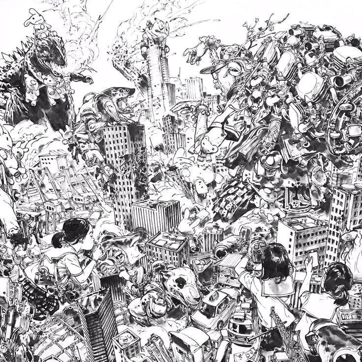 Juxtapose x Flat ARTWORK BY KIM JUNG GI