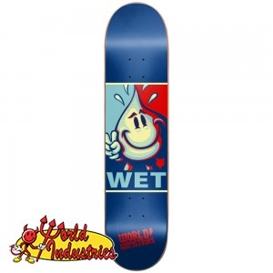 World Industries Wet Willy Deck -- about  $45