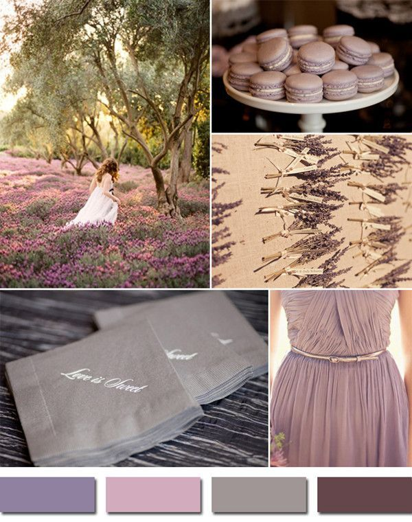 shades of purple mauve inspired elegant fall wedding ideas 2014 #weddingcolors #elegantweddinginvites #fallweddingideas
