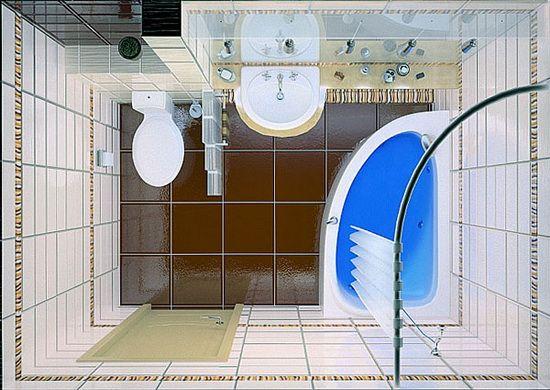 маленькая ванная / small bathroom