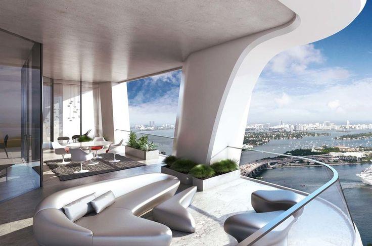 One Thousand Museum | Architect Magazine | Zaha Hadid Architects, Miami, Florida, United States, Multifamily, Projects, Zaha Hadid