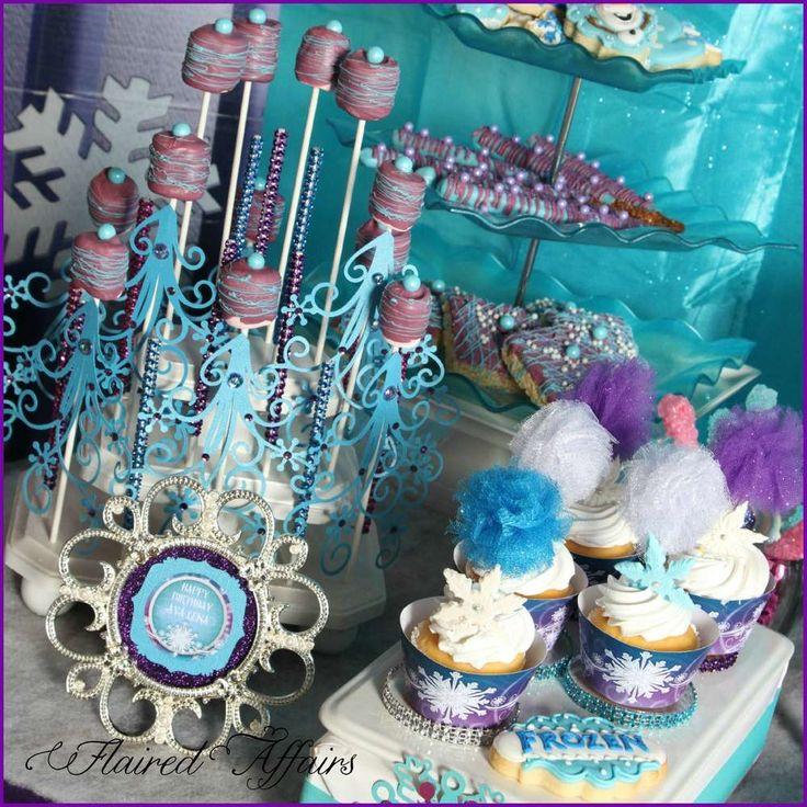 Frozen (Disney movie) Birthday Party Ideas   Photo 2 of 33   Catch My Party