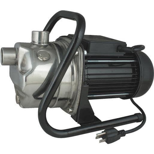Star Water 1Hp Ss Sprinkler Pump HSPJ100 Unit: Each, Silver stainless steel