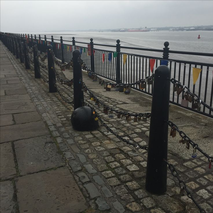 Love Locks and Liverpool's Albert Dock