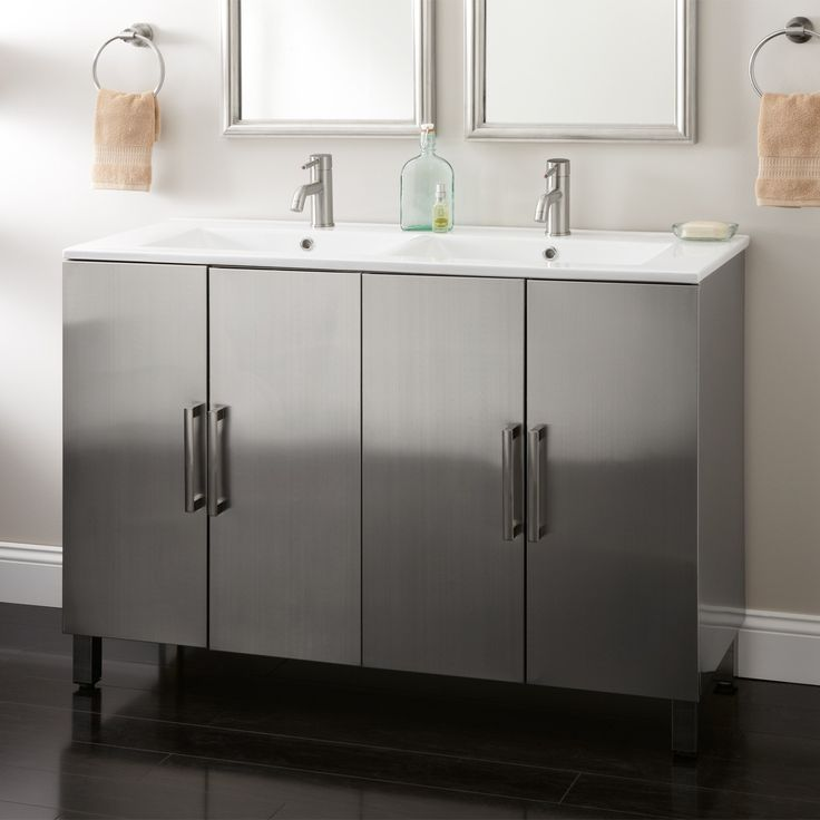 with shop bathe white huge jaq inches gift bathroom sink double creative vanity spa genuine vanities integral