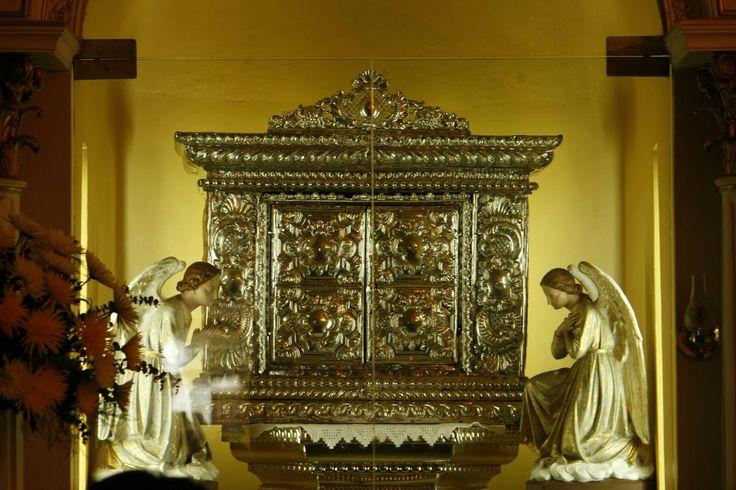 Sagrario de la catedral Popayán.  Foto por Gloria Vejarano.