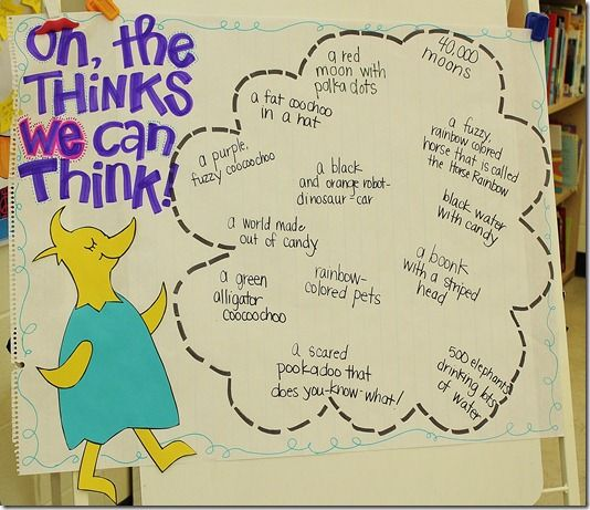 Dr Seuss Quotes Oh The Thinks You Can Think: 262 Best Images About Kindergarten/ Dr. Seuss On Pinterest