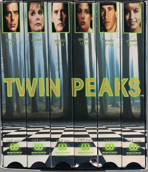 Twin Peaks VHS box set