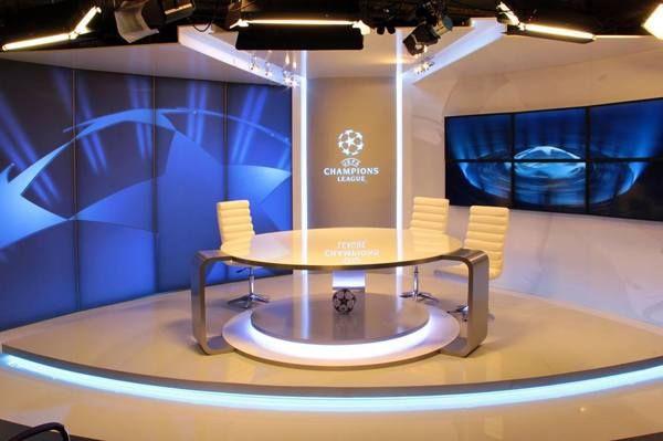 CHAMPIONS League TV Studio /DIGI Slovakia/ by Joseph Tucny, via Behance