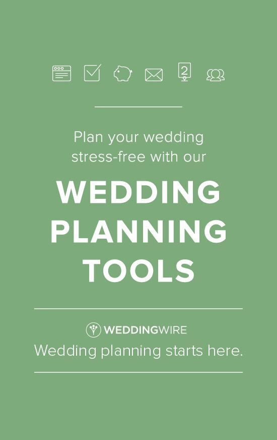 Planning a wedding? Sign up for our planning tools to stay organized and in-the-know!