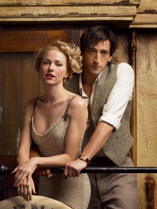 "Naomi Watts and Adrien Brody in ""KIng Kong"""