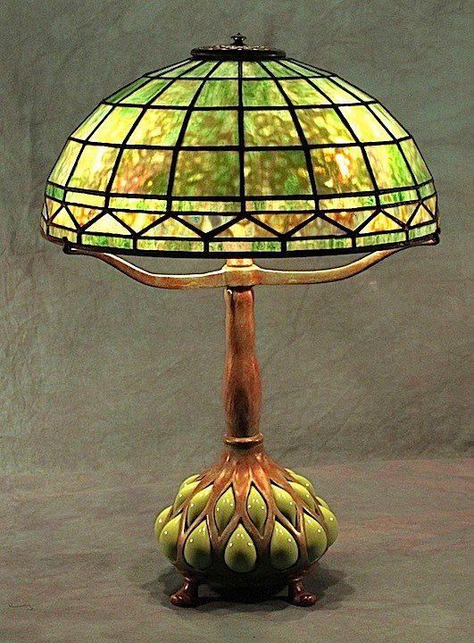 Century Studios Lamp - Arts & Crafts - Craftsman - Tiffany