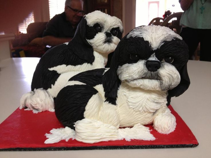 Dog Cake Decor : 14 best images about Sculpted Dog Cake on Pinterest Birthday cakes, Decorating ideas and The o ...
