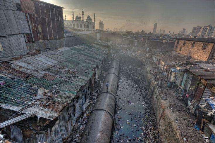 Slums • (Dharavi) Mumbai, India | Escaped Communities ...