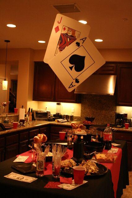 Casino Birthday Birthday Party Ideas | Photo 2 of 23 | Catch My Party