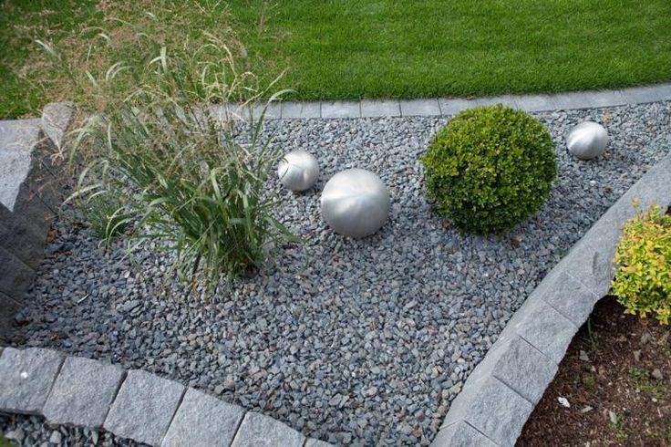 Gartengestaltungsideen Steingarten anlegen mit passender - steingarten mit granit