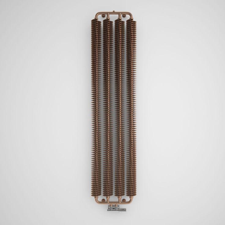 Terma Ribbon Radiator Copper, (H)1720 mm (W)390 mm | Departments | DIY at B&Q
