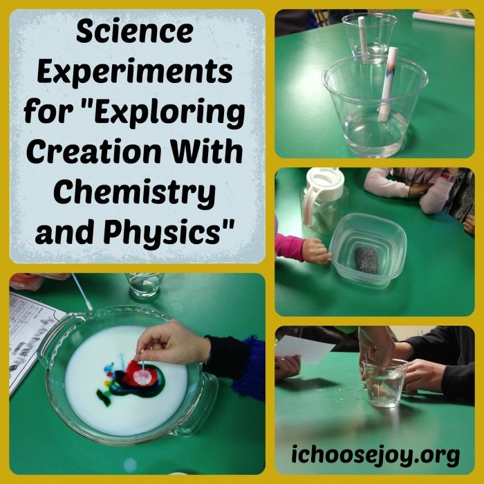 "Science Experiments for Apologia ""Exploring Creation with Chemistry and Physics"""