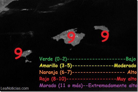Detectan mayor nivel de radiación ultravioleta jamás medido - http://www.leanoticias.com/2014/07/09/detectan-mayor-nivel-de-radiacion-ultravioleta-jamas-medido/
