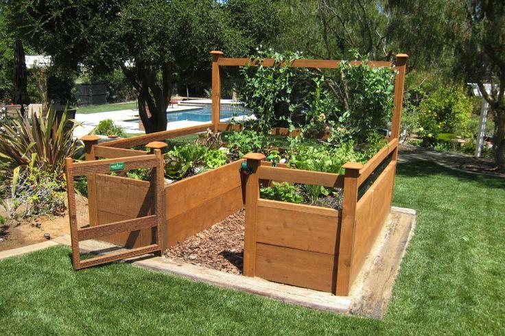 Just Add Lumber Vegetable Garden Kit 8 X8 Deluxe Amazon