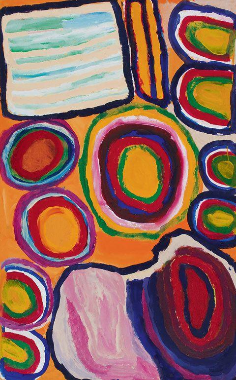 Dadda Samson | Martumili Artists | 'Purlpa' (2007) | Yiwarra Kuju: The Canning Stock Route.