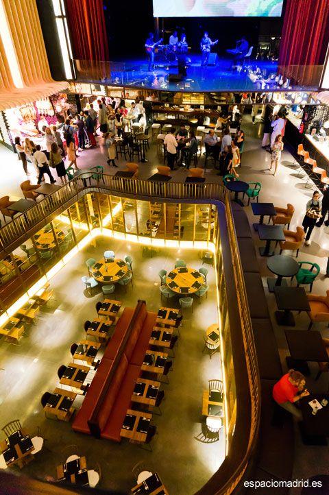 El antiguo cine Carlos III junto a los bajos que ocupaba la discoteca Cleofás, se convierten en PLATEA MADRID, uno de los mayores espacios gastronómicos de Europa