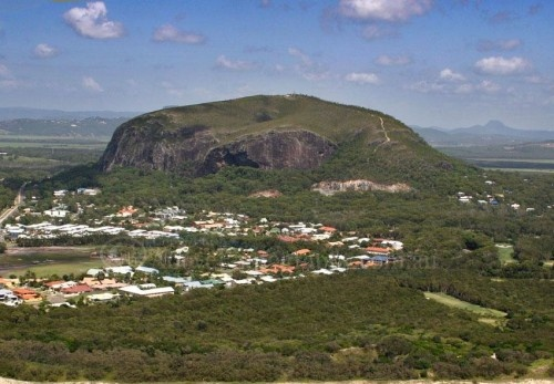 QUEENSLAND (Sunshine Coast): Once was my home - Mount Coolum Queensland: Mount Coolum's impressive dome-shape rises 208 m above the Sunshine Coast lowlands and provides spectacular 360 degree views of the coast and hinterland.