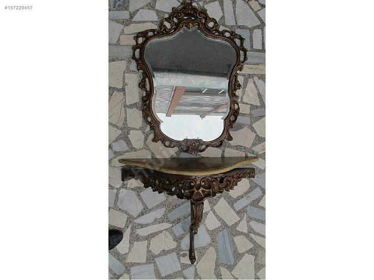 Alparslan Antik'ten Antika Ceviz Tırnak Ayna - Antika Ayna ve Çeşitli Antika Dekorasyon Ürünleri sahibinden.com'da - 157229457