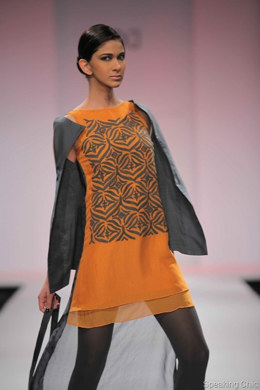 Nupur Kanoi: with cording, pleating, kantha and quilting.