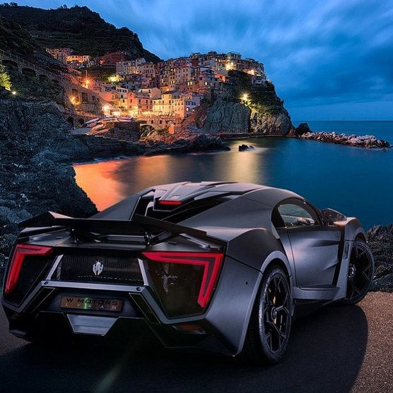 The $3.4M Lykan Hypersport is watching over you!