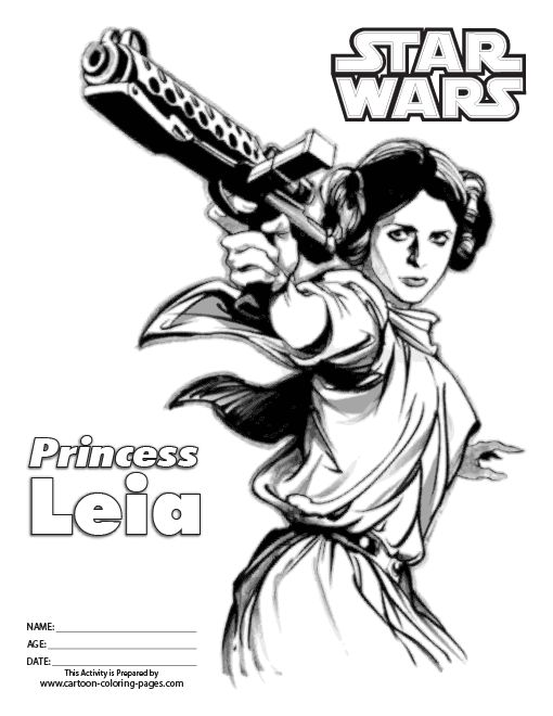 star wars princess leia coloring pages star wars online coloring pages princess leia