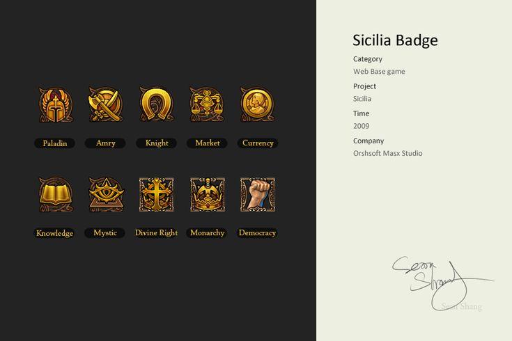 Sicilia Badge by cseec.deviantart.com